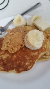 protein pancakes camping