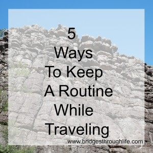 5 ways to keep routine camping traveling