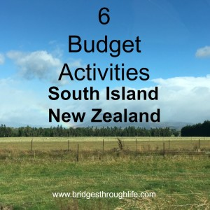 6 budget activities south island nz