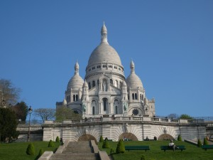 basilica of the sacred heart paris