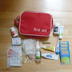 first aid kit insta