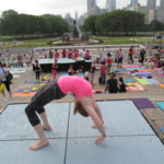 Yoga on the Steps May 2015