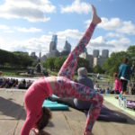 Yoga on the Steps May 2016