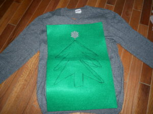 ugly sweater DIY2
